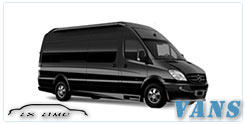 Luxury Van service in Quebec