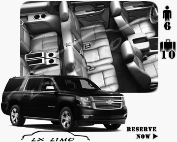 SUV Suburban for hire in Quebec