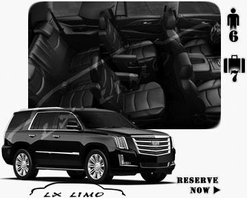 SUV Escalade for hire in Quebec, QC